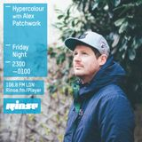 Hypercolour Rinse FM - 24th July '15 - Guest mix from Alex Patchwork