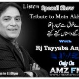 Tonight Specail Show Tribute to Moin Akhtar...