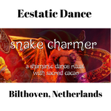 Sacred Cacao ritual at Ecstatic Dance Bilthoven (NL), 9/2019