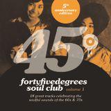 45° Degrees 5th Anniversary Mix