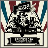 The 113th Show 059 - Mixed By It's Benzzo