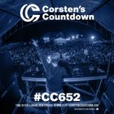Corsten's Countdown 652 (Corsten's Countdown Yearmix Of 2019)
