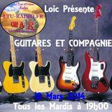 Guitares et compagnie 18 Mars 2014