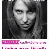Audioküche pres. Liebe zur Musik // Zarah Zahar