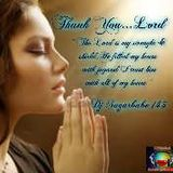 Thank You...Lord