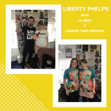 Liberty Phelps x Lo Bros and Camden Town Brewery