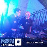 Funkymusic Monthly Podcast, Jan 2016 - Dj Qusok & Dj Mr.Lefik - Funkymusic Session