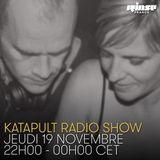 Katapult Radio Show Invite JeffK, Varoslav, Yakine & Grego G - 19 Novembre 2015