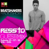 The Beatshakers Radio Show - Guest Mix by Pessto