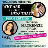 Live! Porno Edition: MacKenzie Peck & Leon: Pleasure Chest NYC April '18