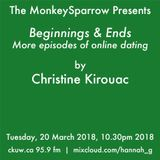 More beginnings and ends - Christine Kirouac