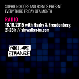 YOU ARE STRANGE RADIO w/ HANKY & FREUDENBERG // 16.10.2015