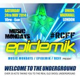 DJ Jedi & MC Strict Live @ Epidemik May 2014