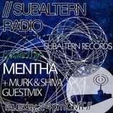 Mentha b2b D-Operation Drop + Murk & Shiva Guestmix - Subaltern Radio 26/11/15