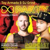 March 2019 Mix | Toy Armada & DJ GRIND Sydney Mardi Gras Promo Podcast