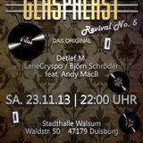 Live Mitschnitt des Glaspalast Revival Warm Up vom 11.10.2013 aus den Unique Beatz Studio Voerde.