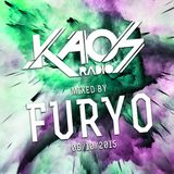 FURYO live mix @ Kaos Radio #2
