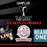 Mezzanote Nights Sampler Mix DJ Alex Gutierrez