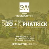 Episode 311 -DJ's Zo (Dumbfoundead / The Line Hotel) & Phatrick (MOM LA /Devil's Pie) -April 4, 2015