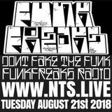 Funk Freaks Radio - 21st August 2018