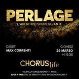 Chorus Restaurant Lounge serata del giovedì più In di Roma v Conciliazione glamour djset MaxCorrenti
