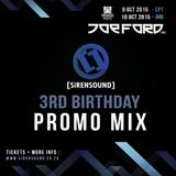 [SiRENSOUND] 3rd Birthday - Promo Mix | OVERCLOCK
