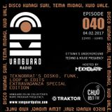 VANGUARD RADIO Episode 040 with TEKNOBRAT - 2017-02-04th CHUO 89.1 FM Ottawa, CANADA