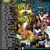 DJ KENNY ONE & MOVE DANCEHALL MIX  JUNE 2018