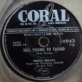 TOO YOUNG TO TANGO : Votre Chazam mixes 78's !