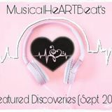 MusicalHeARTBeat's Featured Discoveries (Sept 2017)
