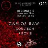 Soultech @ The Red Room El Salvador Episode 011