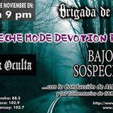 Brigada con Lux Oculta y el colectivo Depeche Mode Devotion Perú