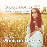 Deep House 5 - Global House Party No.205 mix