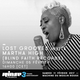 Lost Grooves Radio Show #24 Rinse Fr (special guests Martha High & Luca Sapio)