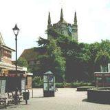 martina mercer with viktoria cowley - Hailsham our wonderful market town   13.8.17