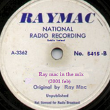 Ray mac in the mix  (2001 feb)