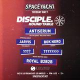 Jarvis - LIVE @ SPACE YACHT  Sound Nightclub Los Angeles, 01/05/18
