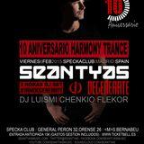 SeanTyas Live harmony Trance 10 Aniversary@Specka Club Madrid Feb 2015
