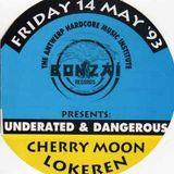 "Yves De Ruyter & Mike Thompson at ""Underrated&Dangerous"" @ Cherry Moon (Lokeren-Belgium)-14 May 1993"