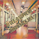 DJ Gee-O Supreme Throwbacks 25 (4th of July BBQ Edition)