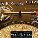 Underground Accounts pays Tribute to Greeks Progressive Session #03 @MoreBass Radio