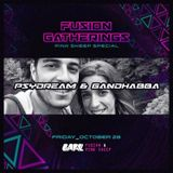 (2016/10) Psydream & Gandhabba at Fusion Gatherings w/ Pink Sheep Project (Gare Porto)