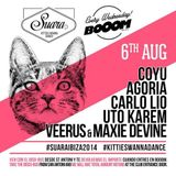Veerus & Maxie Devine - Suara Night @ BOOOM Ibiza - Opening for COYU - 6 August 2014.