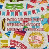 Aytee Kane - ROOF 28 july 2K16 Patio Summer Party live part1