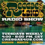 Reggaeland FM radio show @ reggae4us.com (21-Jan-2014 / P1)