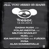 Ida Matsdotter aka Fjäder @ Tuna Park: All You Need Is Ears - Tresor Berlin - 18.04.2014