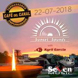 Kyril Garcia @ Café del Canal - Sunset Sounds - 22/07/2018