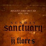 JJ Flores Live @ Sunday Sanctuary (Hollywood) 8.23.2015
