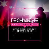 TRS019 Techniche Live: Myxzlplix 05.04.17