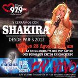 28-08-15 - #LaMañanaPresenta #ENVIVO #Shakira #DesdeParis2012
